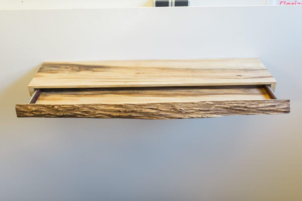 Boekenplank Met Lade.La Planque Meubelmaker Florian Bitter Ambachtelijk Meubelmaker In